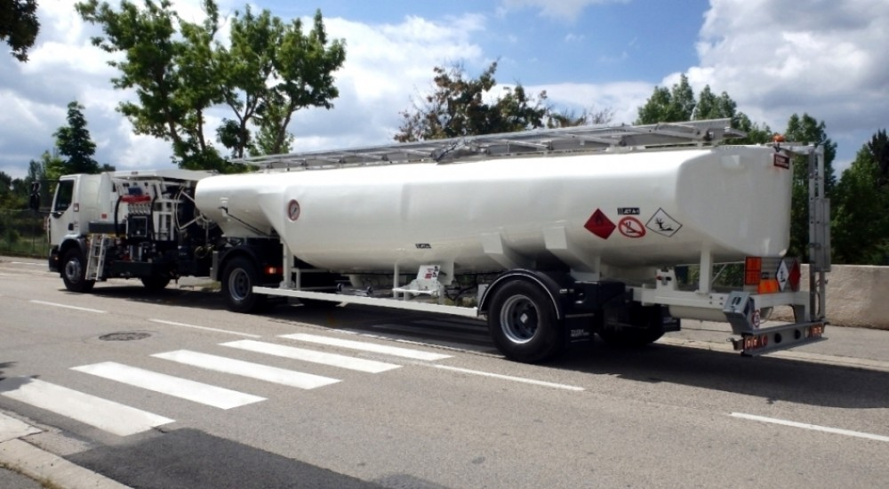 35 000 SEMI TRAILER REFUELLER
